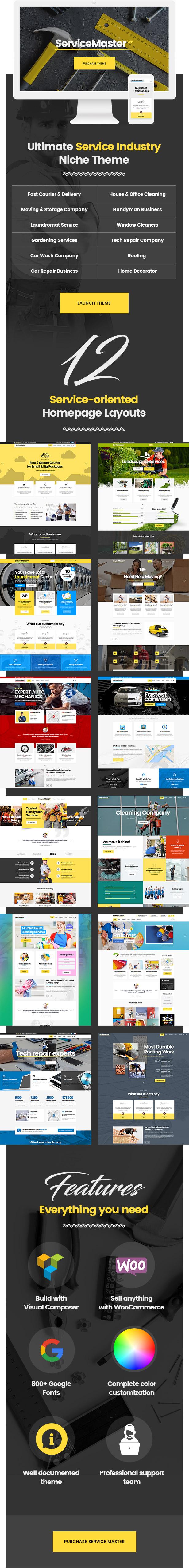 Service Master - Multi-Concept Theme for Service Businesses - 1